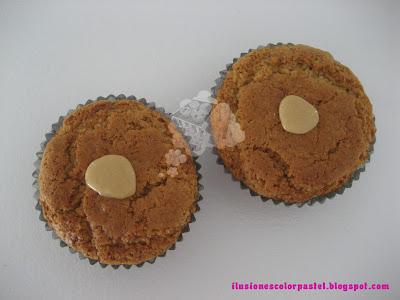 Mega cupcakes de turrón - Receta y decoración!!