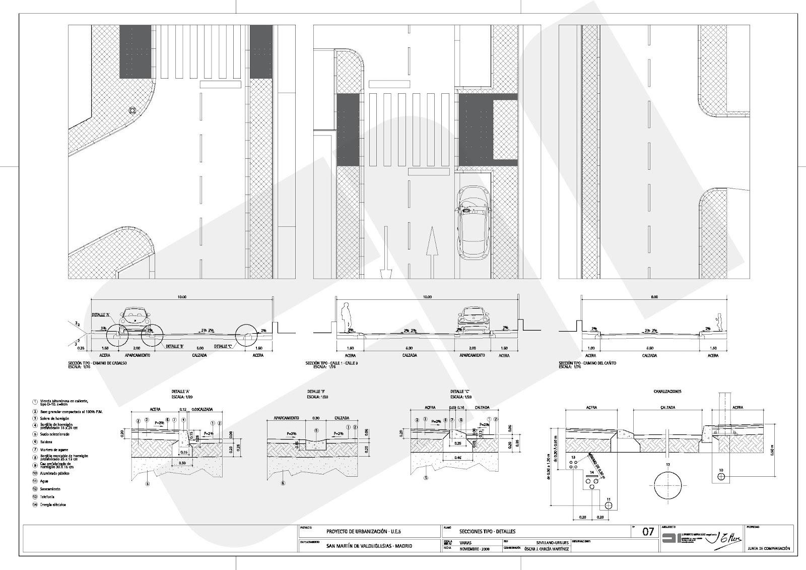 Em Arquitectos Proyecto De Urbanizacion De La Unidad De