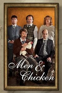 Poster Men & Chicken