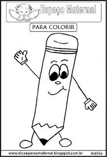 Desenho de lápis para colorir