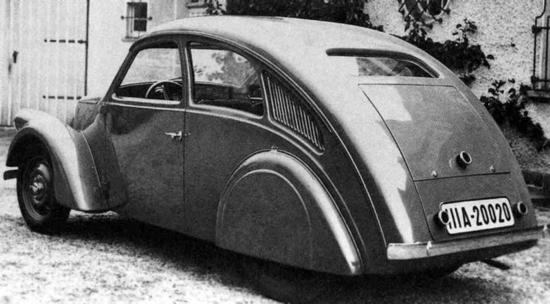 Porsche Type 12 - Back