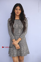Actress Chandini Chowdary Pos in Short Dress at Howrah Bridge Movie Press Meet  0006.JPG