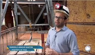 Engenheiro de minas de Picuí foi destaque no Domingo Espetacular