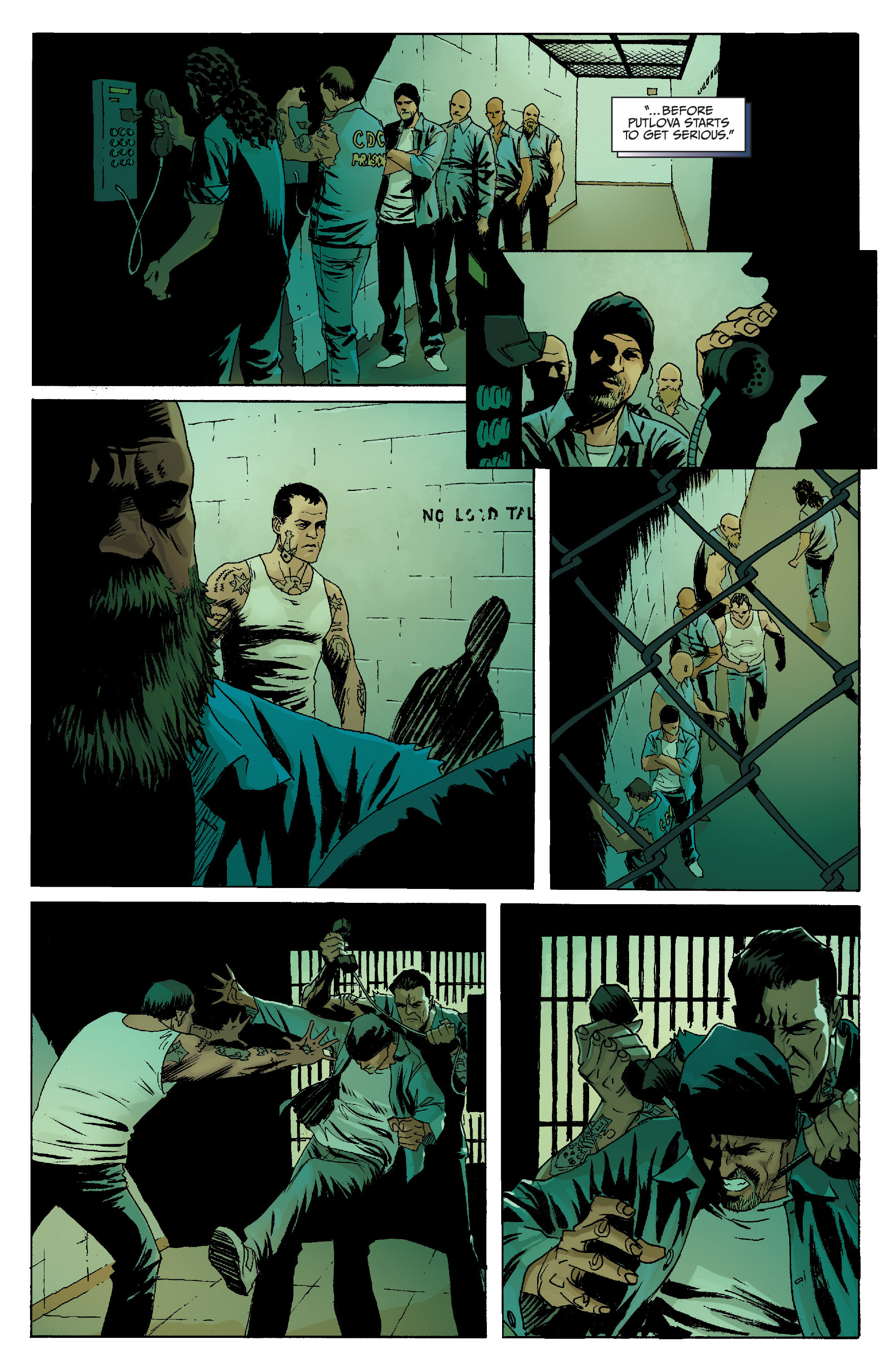 Read online Sons of Anarchy comic -  Issue #8 - 22