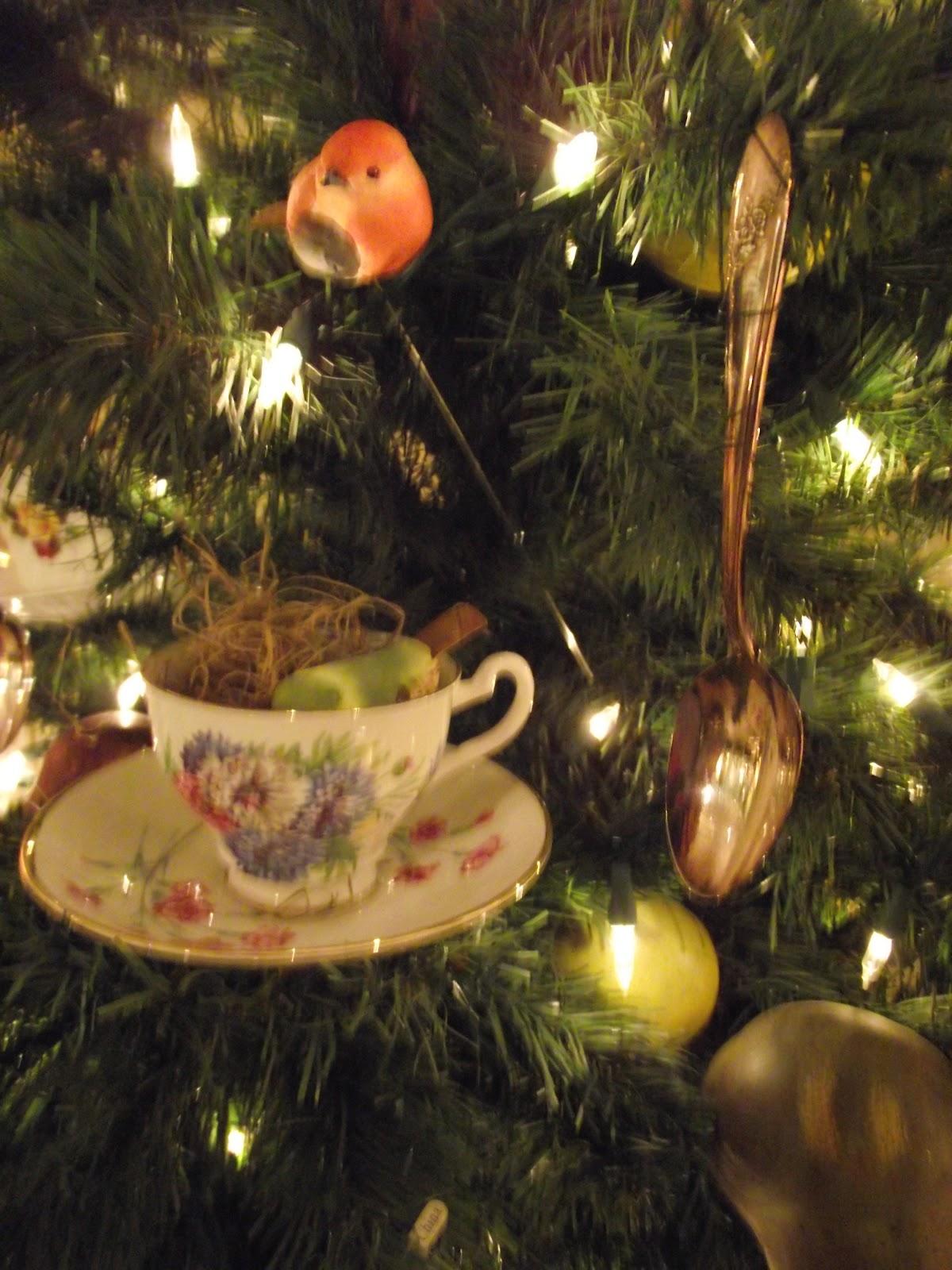 Tea Cup Christmas Tree | Gantt's Decorating