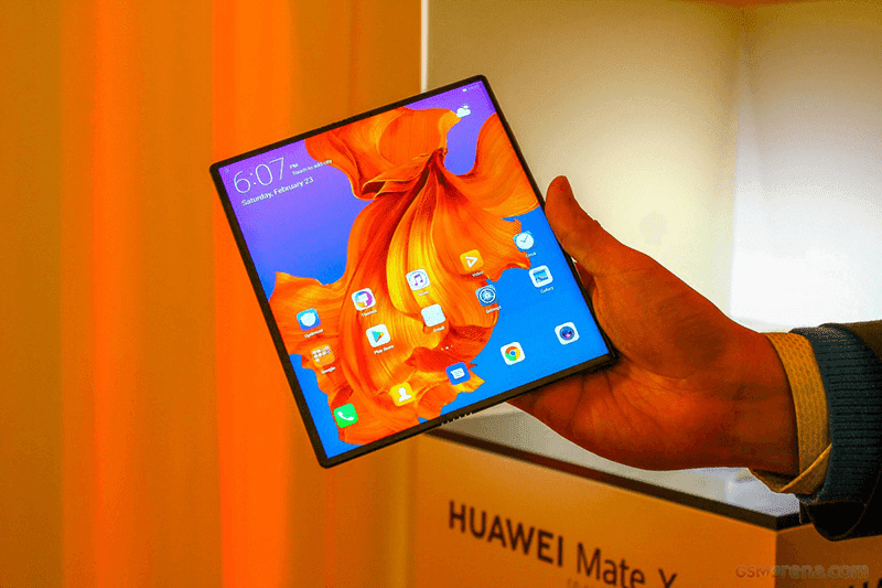 #MWC19: Huawei Mate X with foldable screen, 55W SuperCharge, and 5G now official!