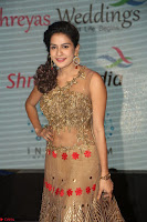 Jenny in brown transparent sleeveless anarkali dress at Shamanthakamani pre release function ~  Exclusive 019.JPG