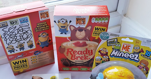 Perfect Breakfast with Ready Brek and Despicable Me 3