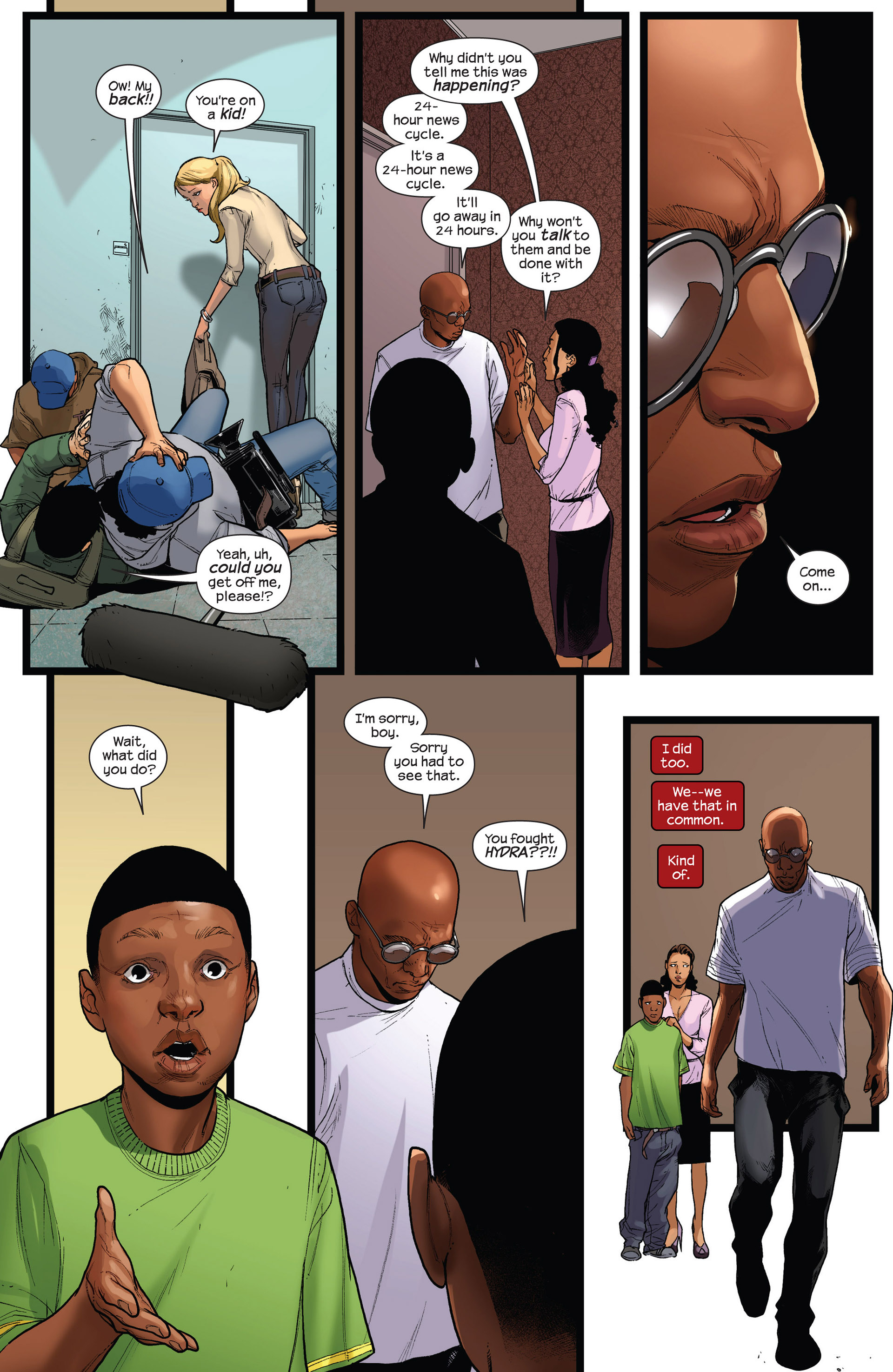 Read online Ultimate Comics Spider-Man (2011) comic -  Issue #19 - 16