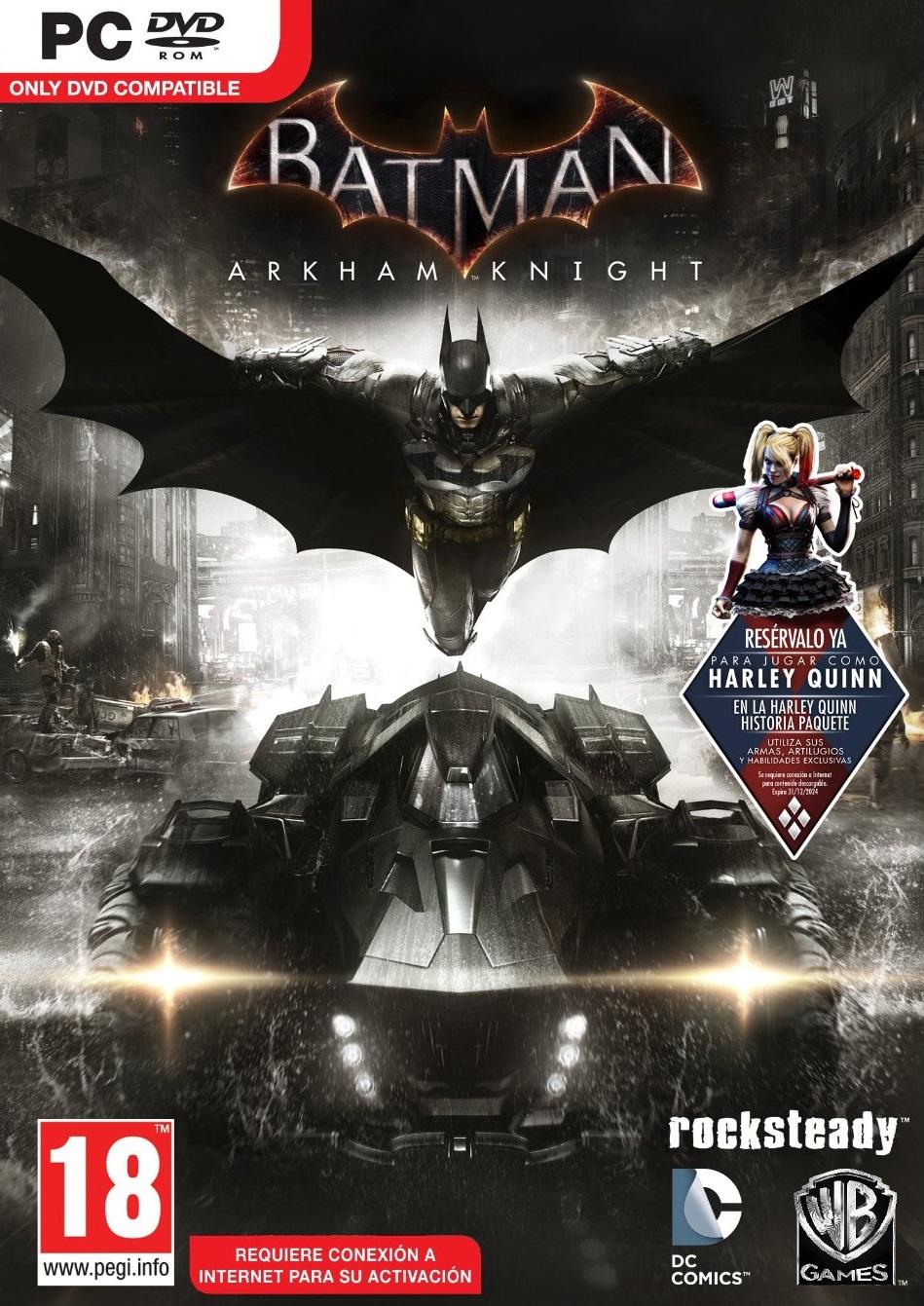 Batman Arkham Knight ESPAÑOL Descargar Full