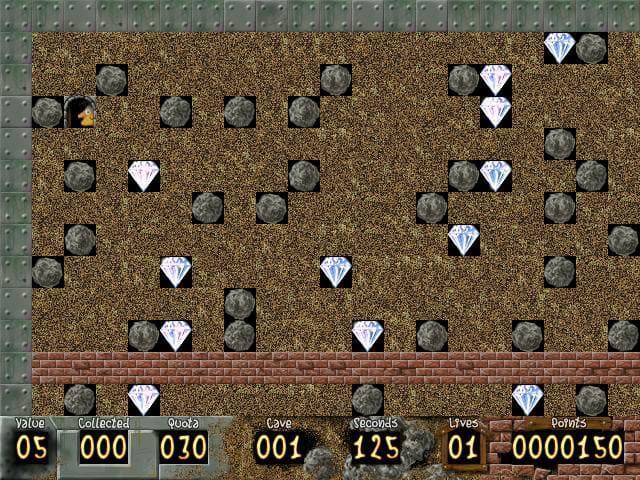لعبة الماس القديمة