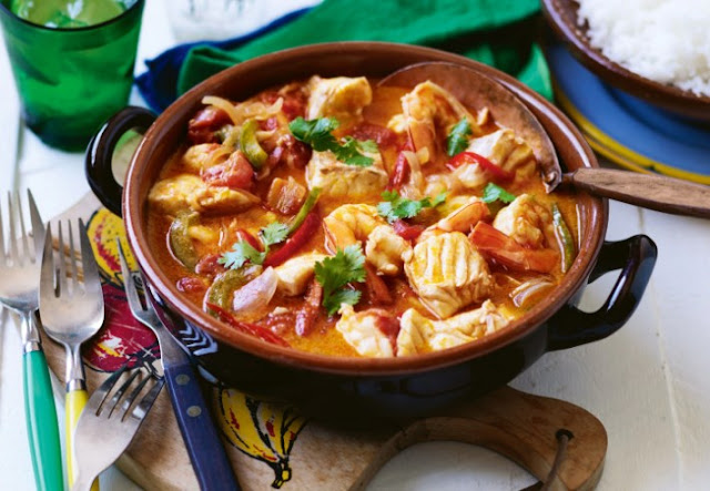 20-Minutes Fish Stew #seafood #dinner