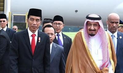 Raja salman menghamburkan uang di indonesia
