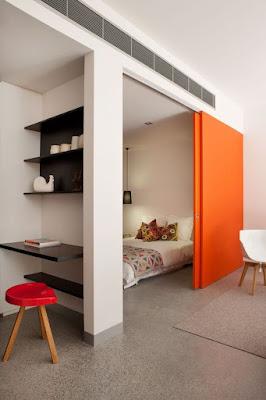 Зонирование пространства в комнате- фото