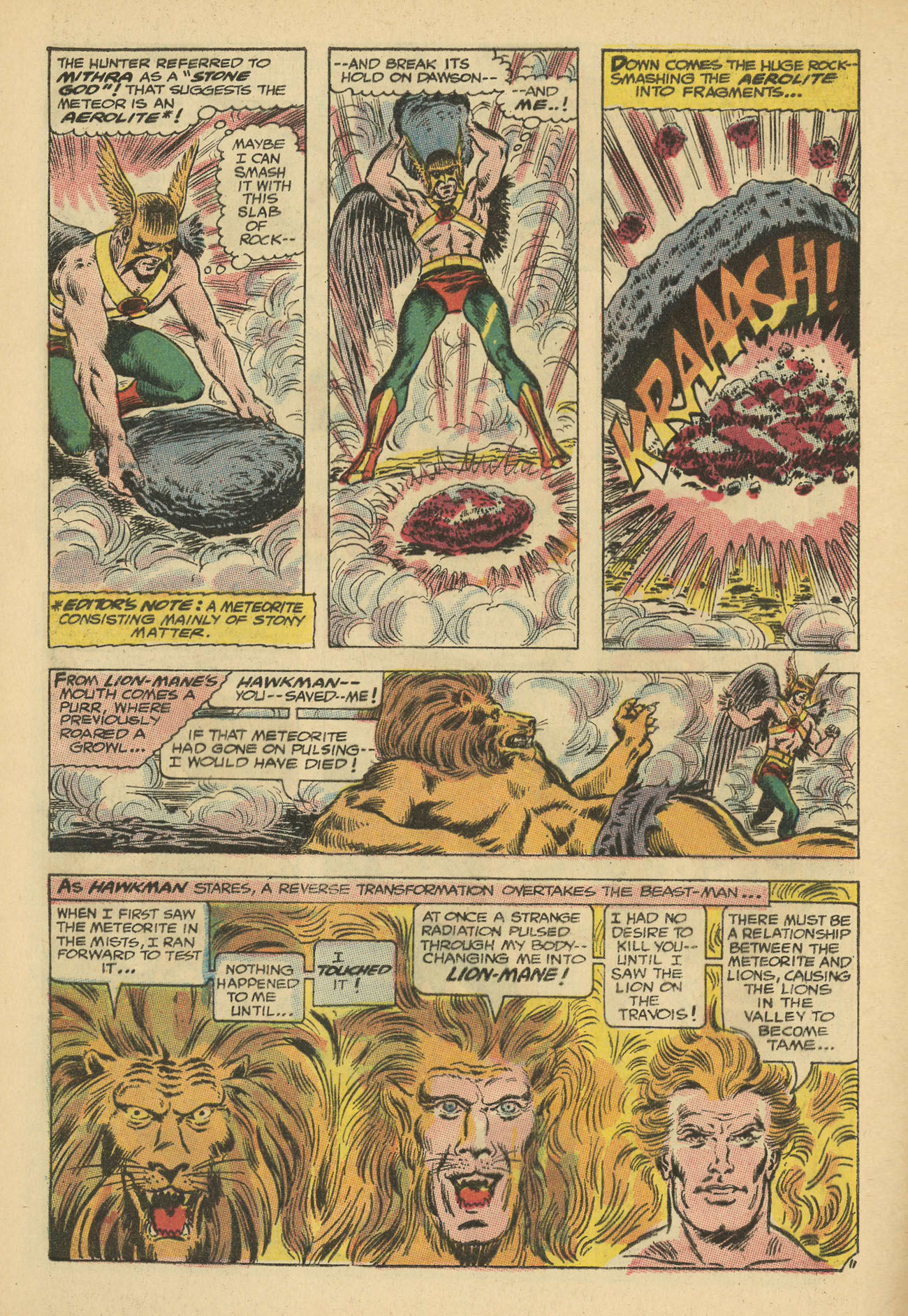 Hawkman (1964) issue 20 - Page 28