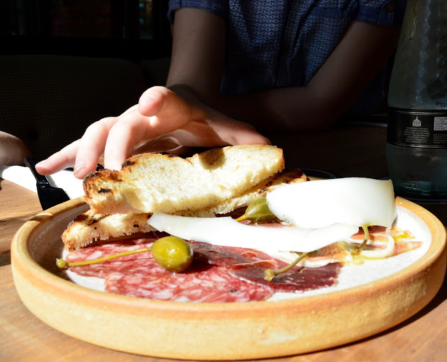 Exhibition Park Newcastle | Wylam Brewery Sunday Lunch | Cured meat platter starter