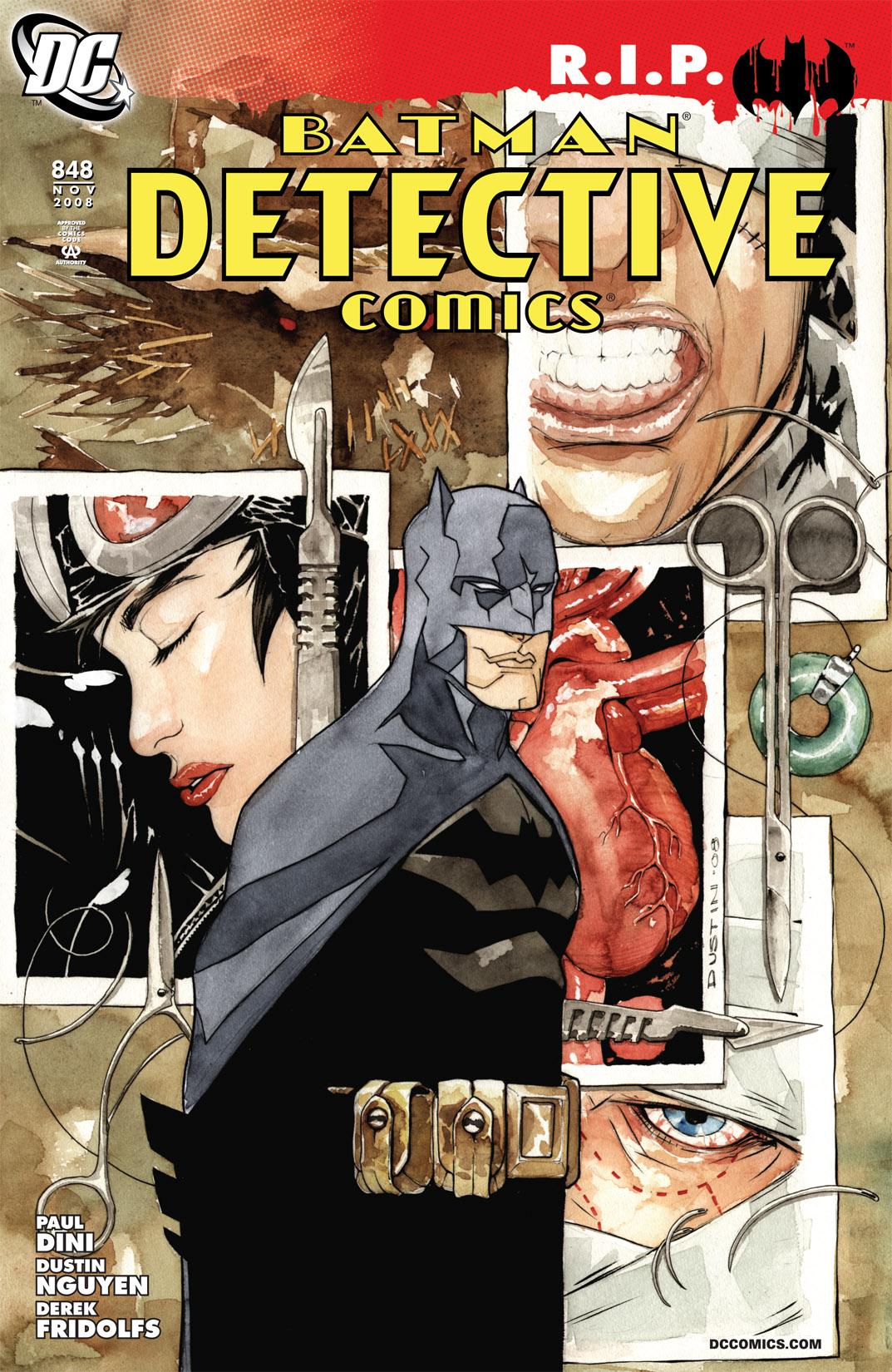 Detective Comics (1937) 848 Page 1