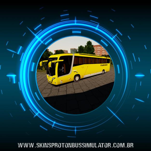 Skin Proton Bus Simulator Road - Busscar Vissta Buss MB O-500 RS BT5 Viação Itapemirim
