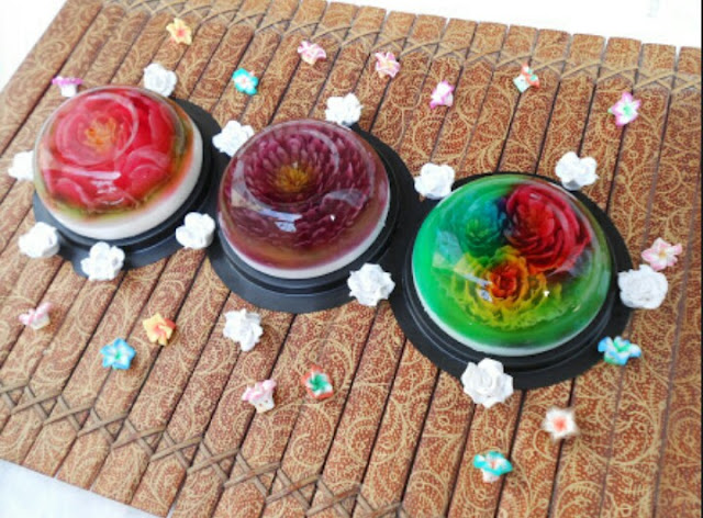 Resep Membuat Jelly Art