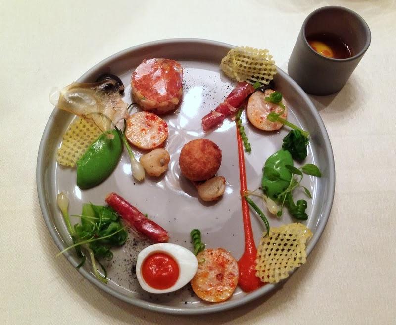 Hamachi Fisch