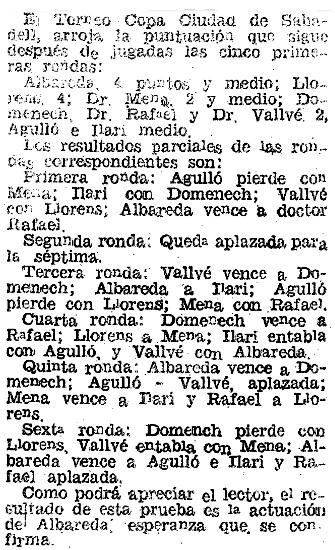 Recorte de El Mundo Deportivo, 11 de julio de 1941