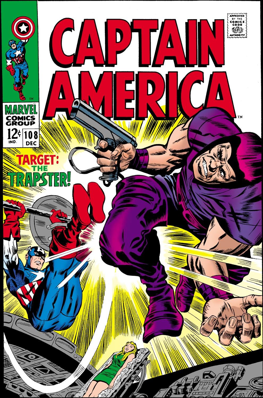 Read online Captain America (1968) comic -  Issue #108 - 1
