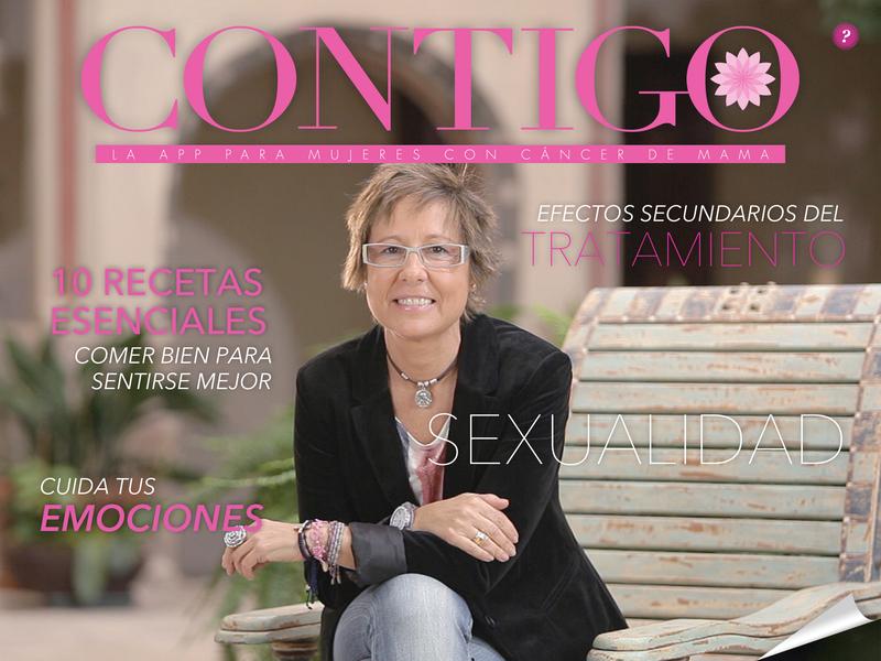"""""""Contigo"""" La primera App de apoyo a mujeres con cáncer - Blog de Belleza Cosmetica que Si Funciona"""