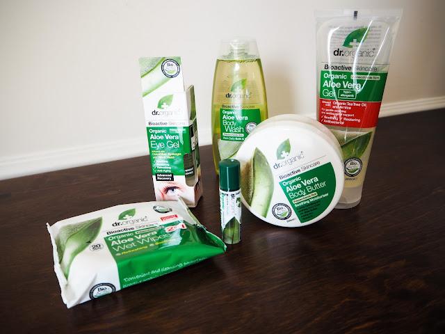 Dr Organic Aloe Vera Skincare Review