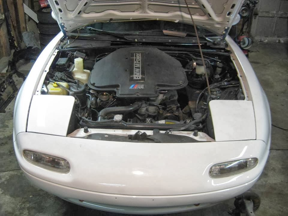 One Hot Lap: A V8 Mazda Miata? Hell, yeah!