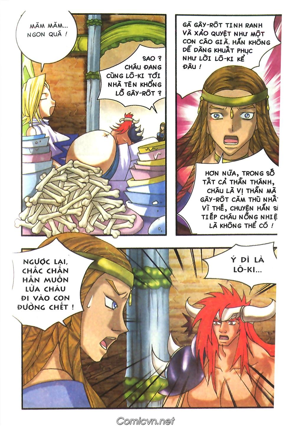 Thần thoại Bắc Âu - Chapter 40: Dì Grit tốt bụng - Pic 22
