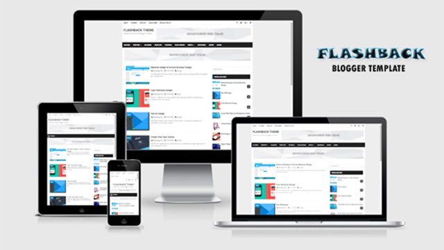 Flashback Responsive Simple Blogger Templates - Kaizentemplate ...