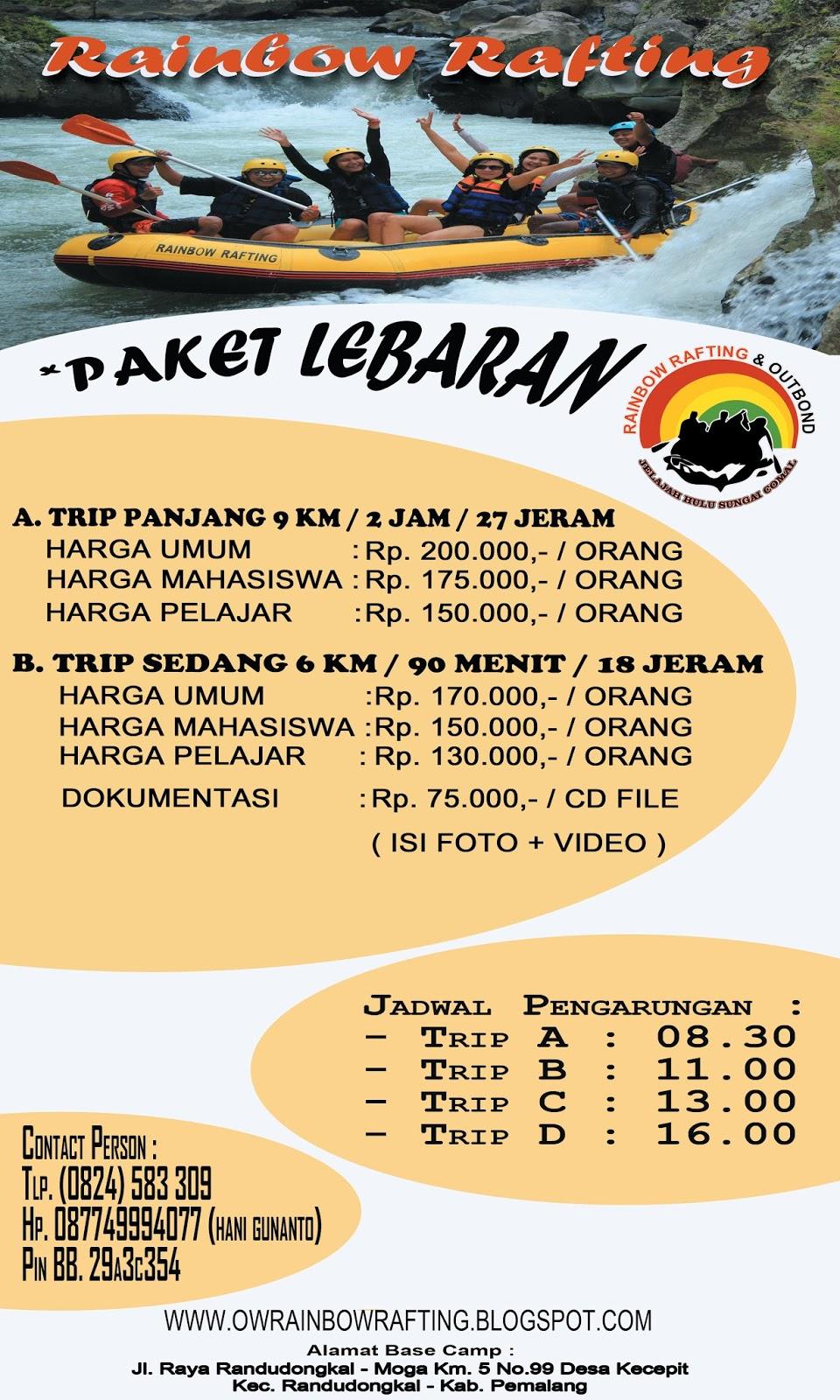Wisata Arung Jeram Jelajah Hulu Sungai Comal 2015