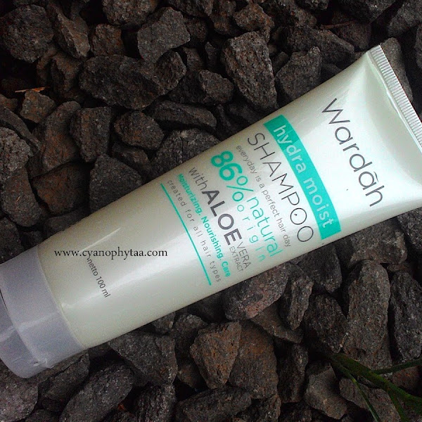 Review Wardah Hydra Moist Shampoo