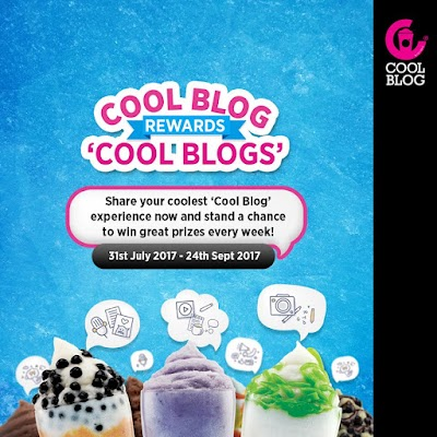 CoolBlog: Blog about your coolest experience and win amazing prizes!