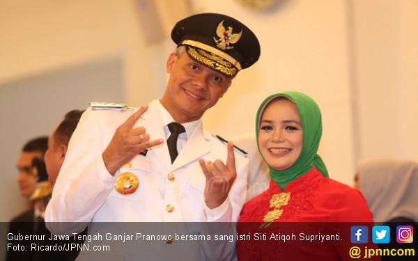 Ganjar Pranowo: Siapa yang Batalin Ceramah Ustaz Somad?