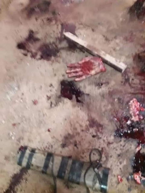 Graphic: Man brutally murders 24-year-old pregnant wife; mutilate her body and drove knives into her genitals