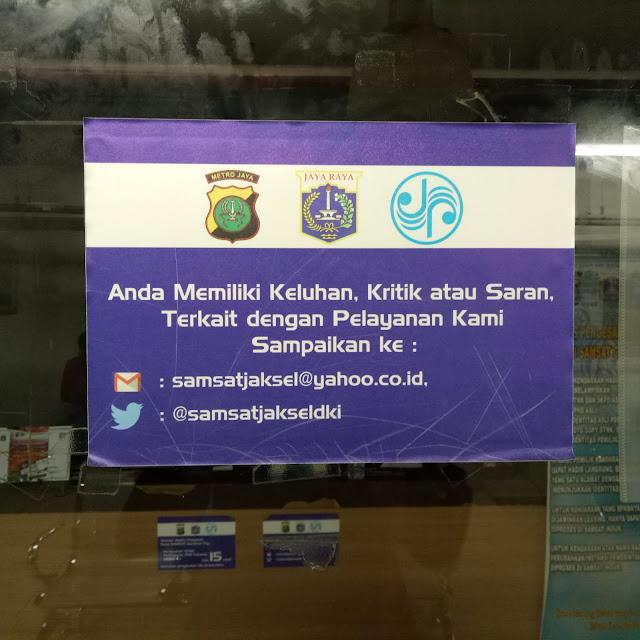 Perpanjangan SIM Mall Gandaria City