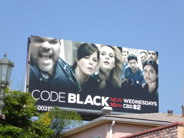 Code Black TV series billboard