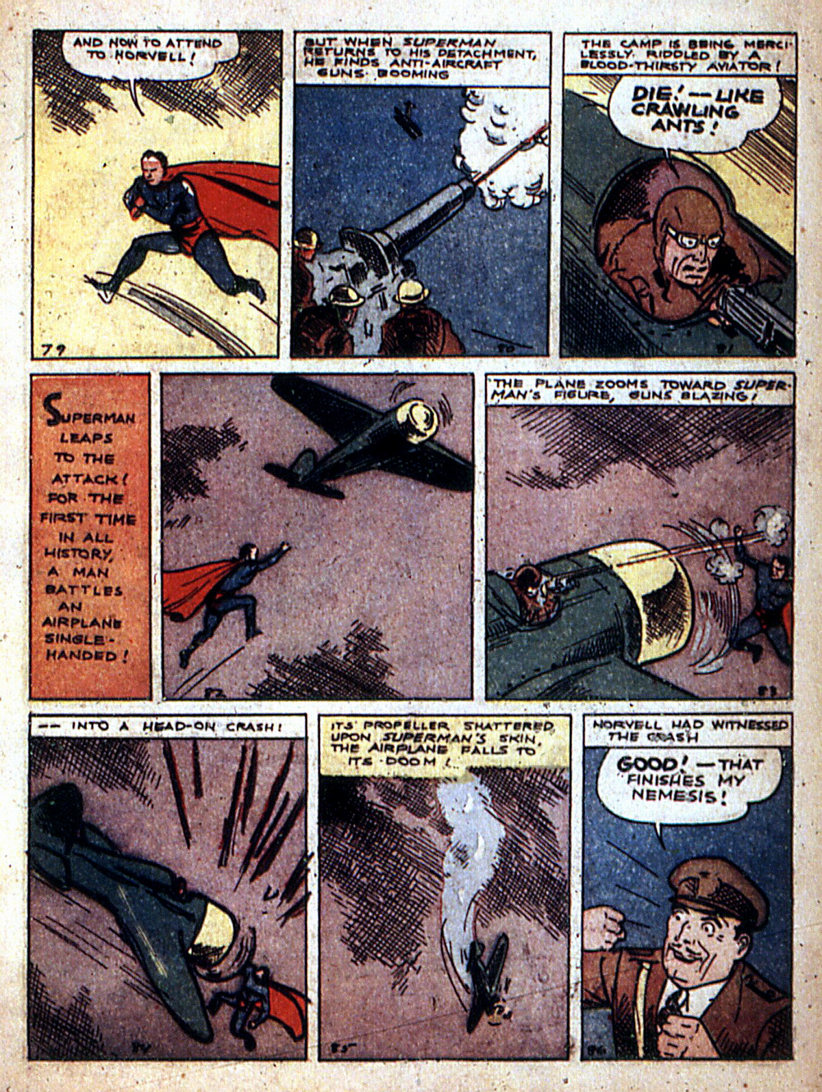 Read online Action Comics (1938) comic -  Issue #2 - 13
