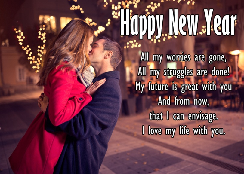 Happy New Year 2019 Wishes for GF
