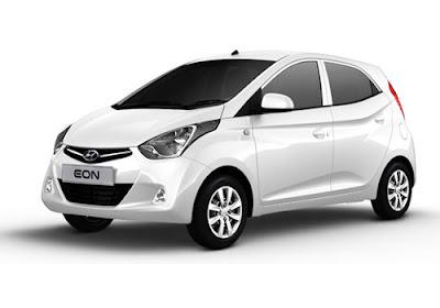 Hyundai EON White wallpaper