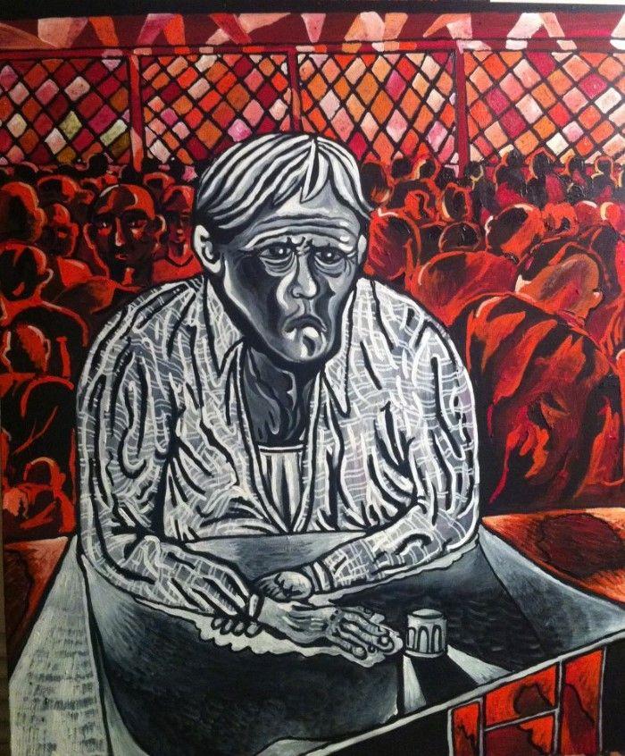 Греческий художник. Falis Leon