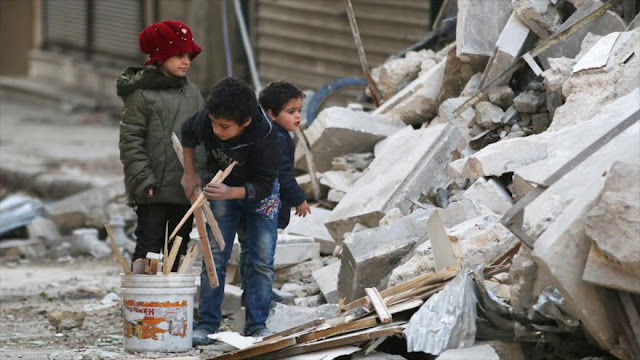 Unicef: Medio millón de niños viven en zonas cercadas en Siria