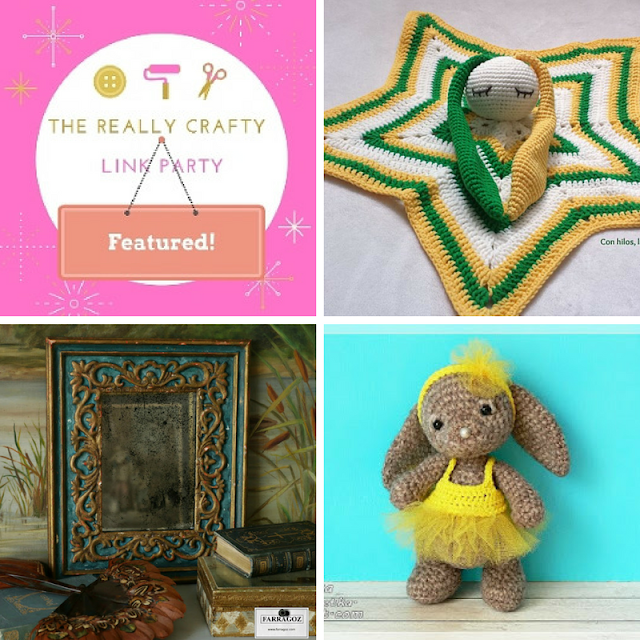 The Really Crafty Link Party #79 featured posts!