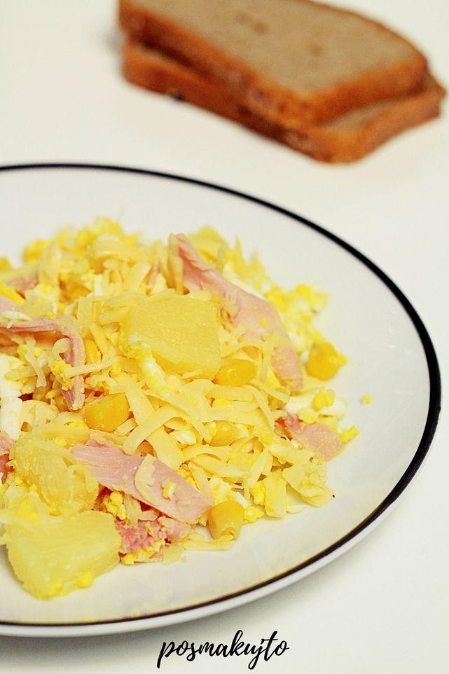 salatka-z-selerem-konserwowym-szynka-ananasem-kukurydza-salatka-na-impreze
