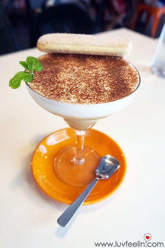 CAFFEiNATED Puchong Bailey's Tiramisu