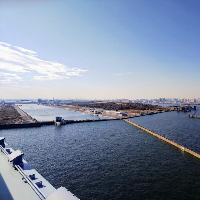 東京ゲートブリッジ 中央防波堤
