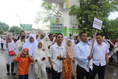 Pawai 1 Muharram 1439 H di Kota Tanjungbalai Berlangsung Meriah