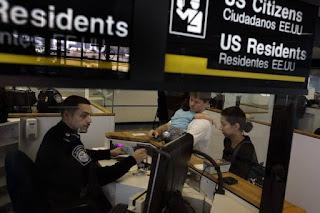 Aduana de Estados Unidos, inmigración