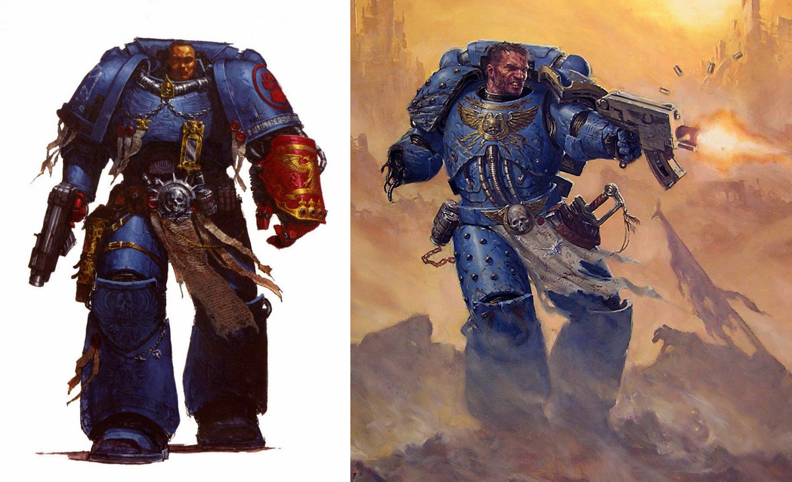 Between the Bolter and Me: Building a True-scale Space Marine Redux